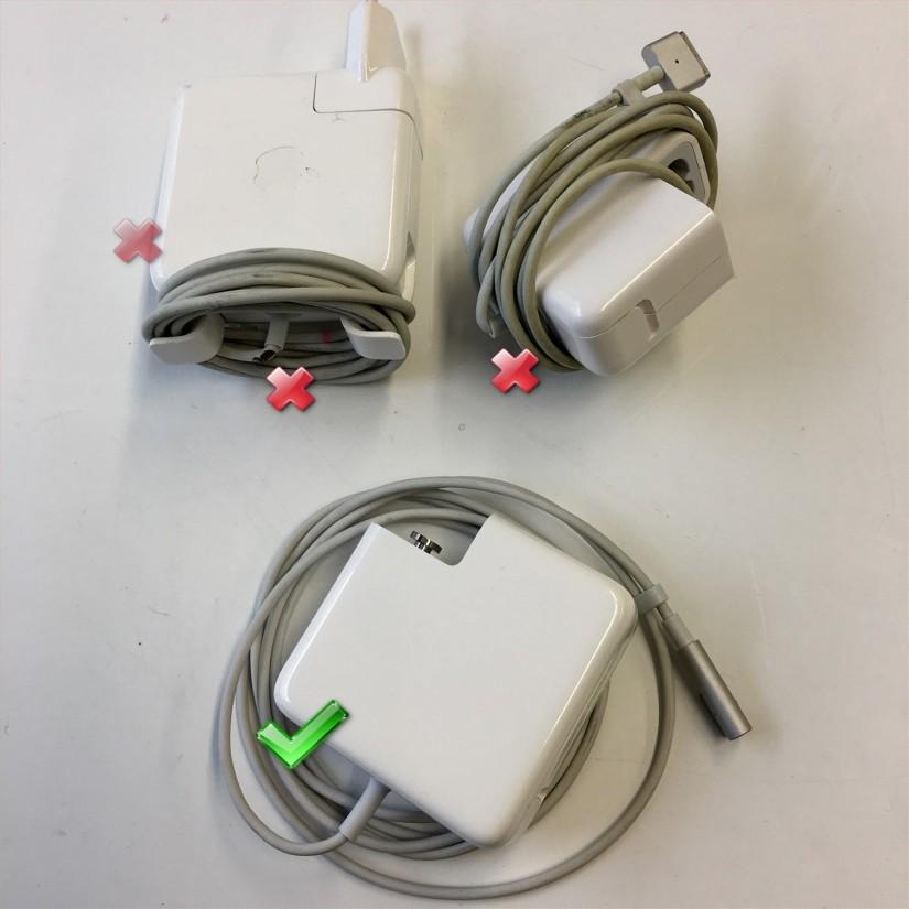 spravne a chybne namotany kabel nabijecky Mac